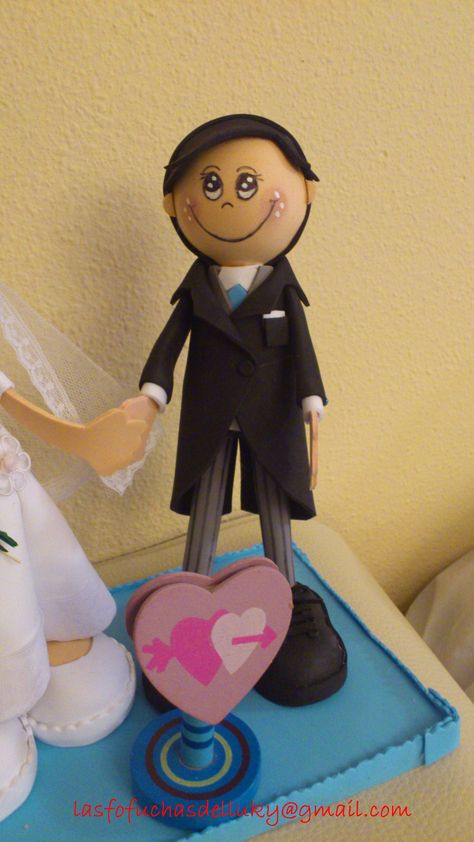 Fofucho novio mini/Groom fofucho doll small