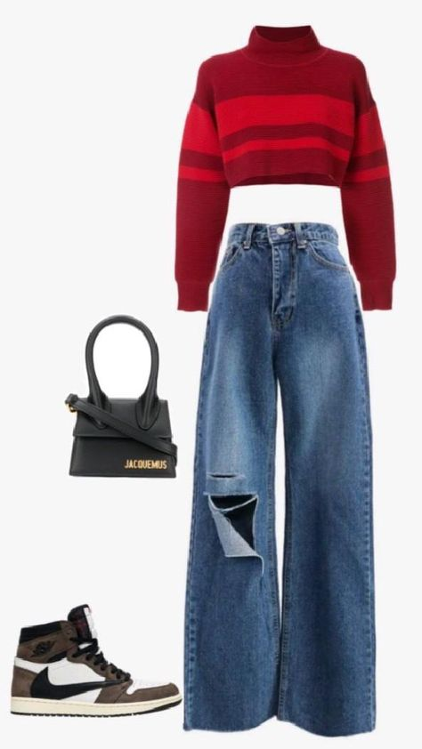 style your straight jeans