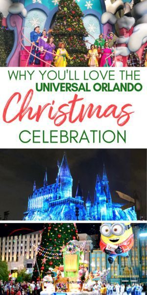 Universal Orlando Christmas Family Travel In 2020 Orlando Christmas Universal Orlando Orlando Holiday