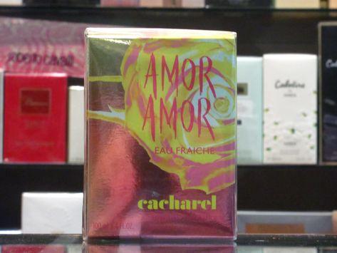 Amor Amor Eau Fraiche - Cacharel Eau de Toilette 100ml Edt Spray Very rare fragrance for women by Cacharel Original 100%