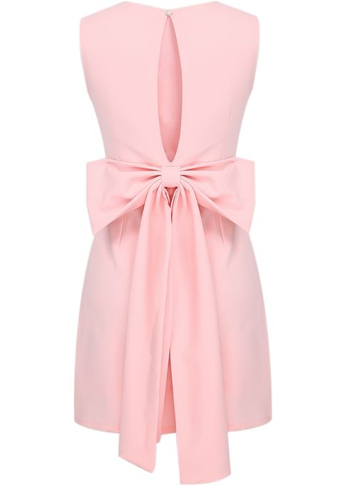 Shop Pink Sleeveless Backless Bow Bodycon Dress online. Sheinside offers Pink Sleeveless Backless Bow Bodycon Dress & more to fit your fashionable needs. Free Shipping Worldwide!