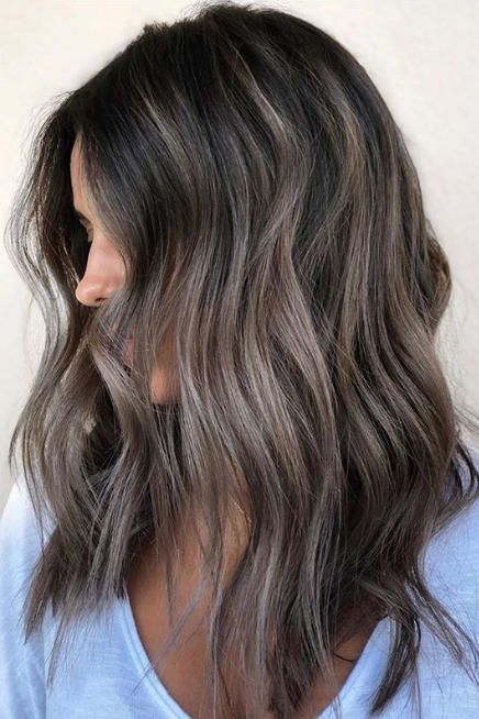 Ash Brown Is The Coolest Brunette Color For Fall 2019 Here Are 11 Shades To Show Your Stylist Brown Hair Balayage Ash Brown Hair Color Brunette Hair Color