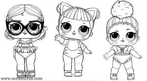 Lol Diva Coloring Page Google Search Lol Dolls Hello Kitty