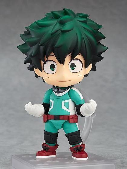 Anime Figma 323# My Hero Academia Midoriya Izuku Figure Figurine New Toy In Box