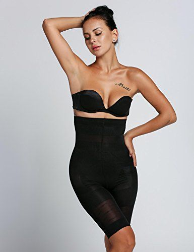 3349975b76500 Jakipo Women Sexy High- Cuts Beauty Slimming Shapewear Fat Burning ...