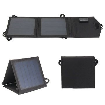 Sun Power 5v 8w Folding Waterproof Solar Panel With Usb Charging Interface Solar Panels Sun Power Usb Charging