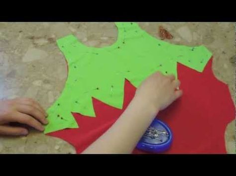 How to Sew Appliqué Stretch on Stretch Fabrics Swimsuits/Dancewear/Costumes - YouTube