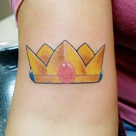 Princess Peach Love It 2nd Tattoo Princesspeach Tattoo