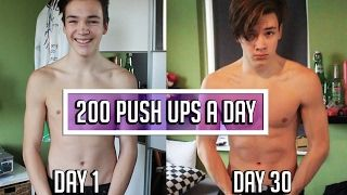 200 PUSH UPS A DAY FOR 30 DAYS CHALLENGE - Body