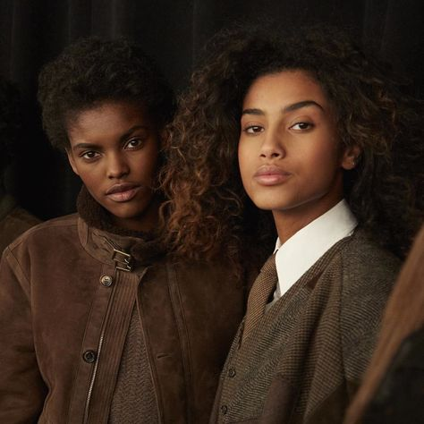 """ralphlauren: """" """"For my Fall 2016 Women's Collection, I was inspired by a woman who dares to be herself."""" - Ralph Lauren """" poc androgyny is taking over. Black Girl Magic, Black Girls, Black Women, Eric Lafforgue, Pretty People, Beautiful People, Beautiful Women, Steve Mccurry, Curly Hair Styles"""