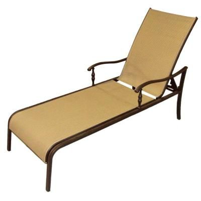 Martha Stewart Living Grand Bank Adjustable Patio Chaise Lounge