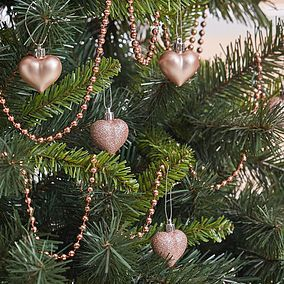 Christmas Tree Decorations Christmas Baubles Dunelm Christmas Tree Decorations Beaded Garland Tree Decorations