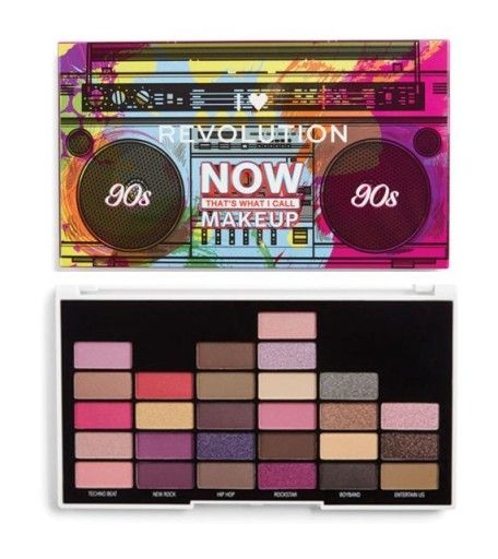 Makeup Revolution Paleta Cieni I Call Makeup 90s 7663161775 Oficjalne Archiwum Allegro Makeup Revolution I Heart Makeup Revolution Palette