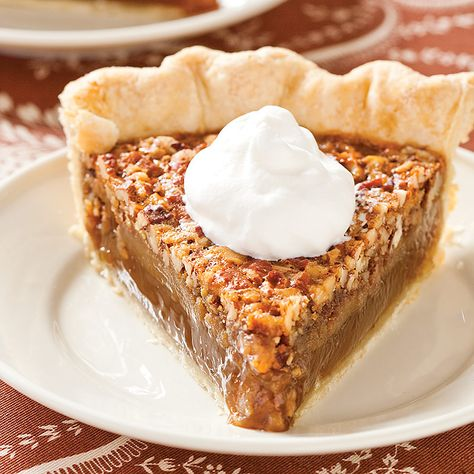 After patiently scouring dozens of recipes, we finally create a Pecan Pie with silky smooth texture, rich pralinelike flavor, and a crisp crust. Just add bourbon whipped cream!