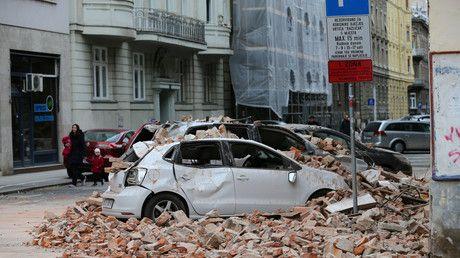 Kroatien Erdbeben Erschuttert Zagreb Viele Verletzte Und Schwere Schaden In 2020 Business Finance News Finance Business News
