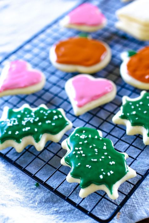 List of Pinterest suger cookies icing recipe that hardens
