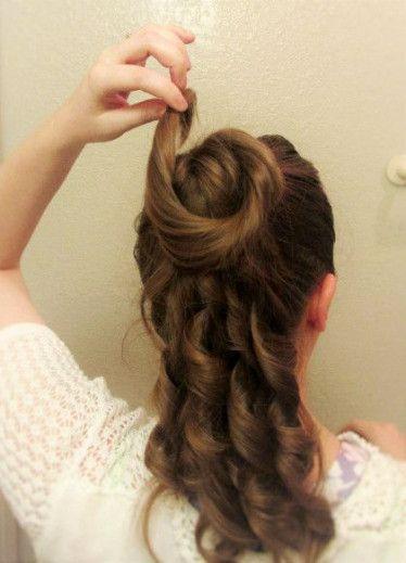 32 Ideas Hairstyles Tutorial Bangs Short Hair For 2019 Victorian Hairstyles Hair Tutorial Hairstyle