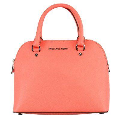 d028c480d9b6 Cindy Dome Leather Satchel Handbag by Michael Kors -  175 Sam s Club ...