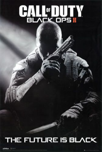 Details About Call Of Duty Black Ops 2 The Future Is Black Video