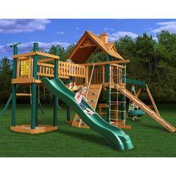 Gorilla Playsets Blue Ridge Pioneer Peak Swing Set--definitely want this for the kids