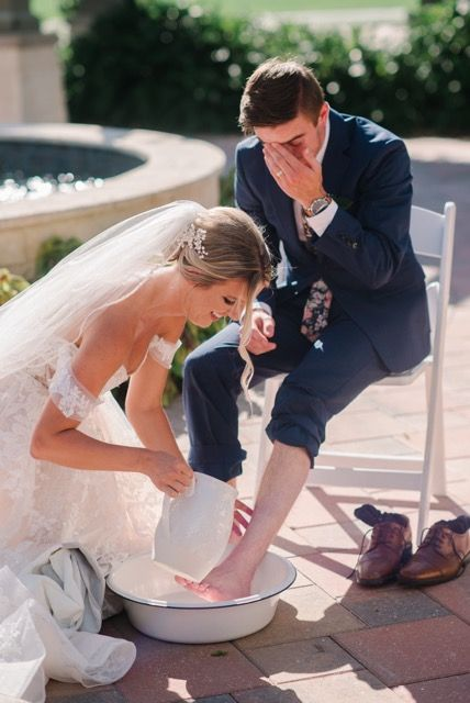 Foot Washing Wedding Ceremony Ceremony Wedding Wedding Ceremony