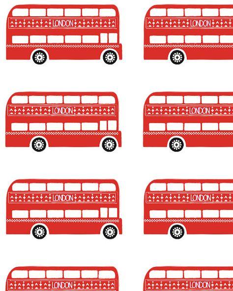 Illustration de Bus de Londres par helenrobin sur Etsy