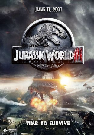 Jurassic World 3 Movie 2021 Review Cast Release Date Mundo Jurassico Jurassic Park Jurassic World