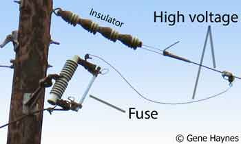 Fuse on power pole | Technology | Breaker box, Utility pole, Box