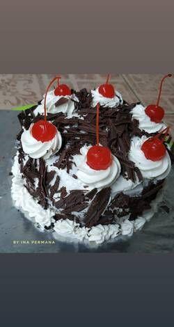 Resep Black Forest Kukus Ekonomis Oleh Ina Permana Resep Kue Ulang Tahun Kue Coklat