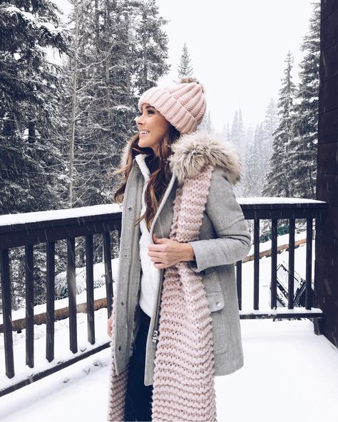 3647a2d7d7d Winter Pink + Gray // Portland, Freeport Maine travel + food diary ...