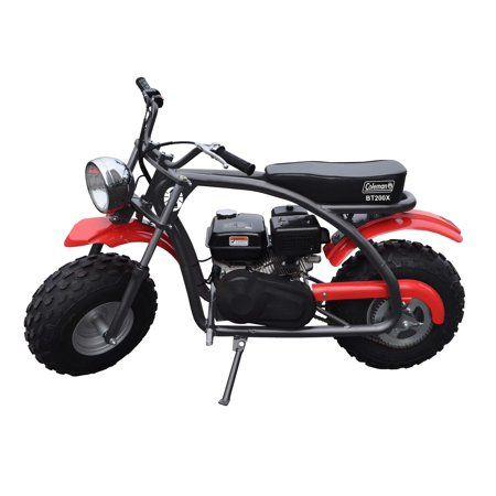 Coleman Powersports 200cc Gas Powered Mini Bike Red And Black Walmart Com Mini Bike Gas Powered Mini Bike Mini Motorbike