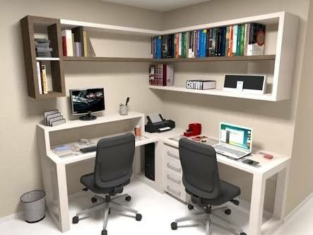 Sala de estudos planejada