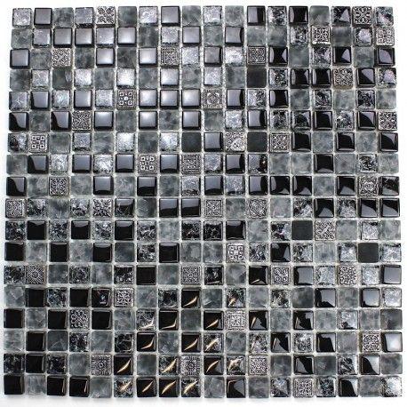 Echantillon Verre Et Pierre Shiro Carrelage Mosaique Verre En