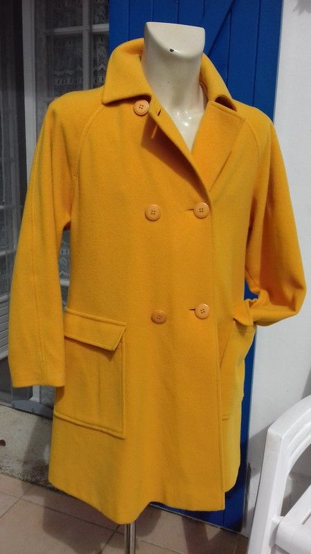 Manteau en lin Zara éthnique Vinted