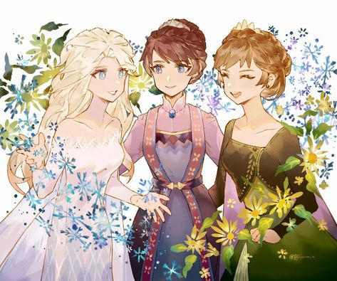 Our Three Queens