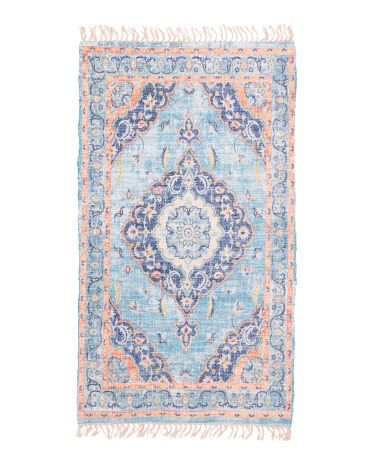Made In Turkey 5x7 Printed Boho Area Rug Boho Area Rug Scatter