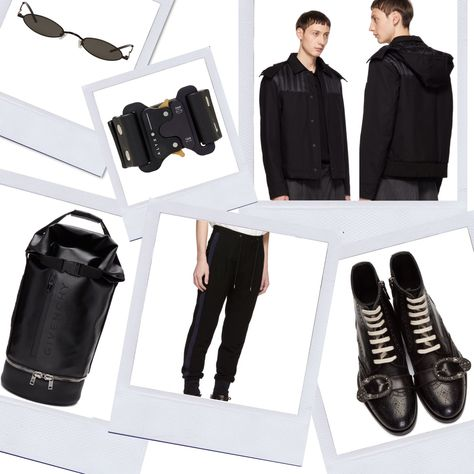81d502635cfb Gentle Monster SSENSE Exclusive Vector Sunglasses. Backpack Faith  Connexion. Alyx Black Buckle Cuff. Genius Down Pike Jacket. Paul Smith  Drawstring Lounge ...