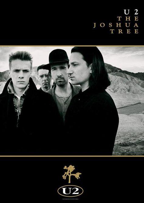 U2 The Joshua Tree Tour 1987.