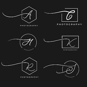 الرسالة الحديثة تصميم شعار التصوير الفوتوغرافي Photography Name Logo Photography Logos Photography Logo Design