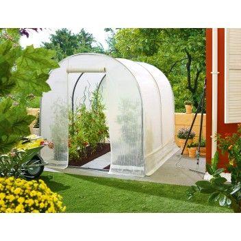 Muovikasvihuone 3 24 M 180 X 180 Cm Bauhaus Outdoor Structures Outdoor Garden Arch