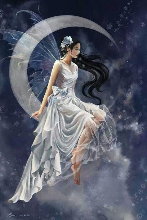 Night Moon Fairy Over Puerto Rico Enchanted Island Fairies Around Us Pinterest