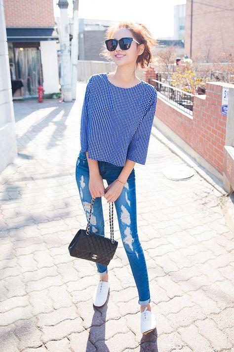 Image via We Heart It #asian #asianfashion #fashion #kfashion #korean #koreanfashion #chuu