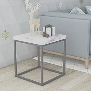13 Appealing Square Side Tables Living Room Image In 2020 Living Room Side Table Marble Top End Tables White End Tables