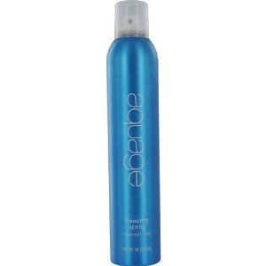 Aquage Freeze Spray. You'll see this in every Babydoll Weddings kit. This is what we use to hold that finished style before the bride goes out for picture or for the ceremony. This Freeze spray is ultimate hold so the style wont be going anywhere!