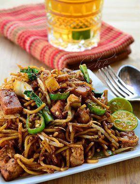 Dapur Tanpa Sempadan Resipi Mi Goreng Mamak Mee Goreng Mamak Asian Recipes Asian Cuisine