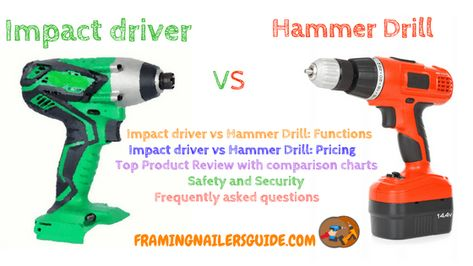 Our Research Article Talks About Impact Driver Vs Hammer Drill
