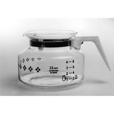 Medelco Gl200 12 Cup Universal Replacement Coffee Carafe With