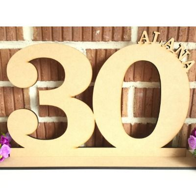 Number And Name Birthday Signature Board Personalized Wooden Signs Birthday Acrylic Decor