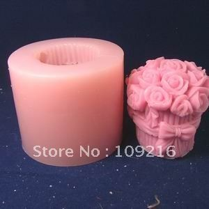 New 3D Wedding Silicone Craft Molds DIY Handmade Soap Candle Mold Mould