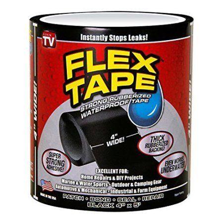 Flextape Immediate Repair Tape For Water Leaks Easily Repair Pips Plastic Pools Aquariums And Much More Repair Tape Waterproof Tape Repair